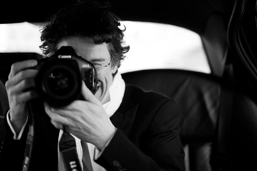 Le photographe Bruno Cohen, partenaire de la Fondation Royaumont. © Bruno Cohen
